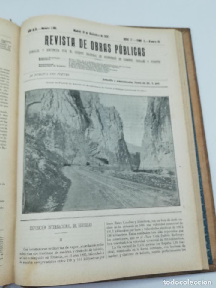 Libros antiguos: REVISTA DE OBRAS PUBLICAS. AÑO XLIV SERIE 7ª PRIMER Y SEGUNDO SEMESTRE. 1897. TOMO I Y II. VER FOTOS - Foto 69 - 275203048