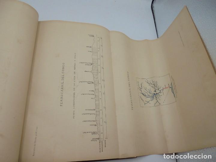 Libros antiguos: REVISTA DE OBRAS PUBLICAS. AÑO XLVII SERIE 7ª. AÑO COMPLETO. 1900. TOMO I Y II. VER FOTOS - Foto 9 - 275222398