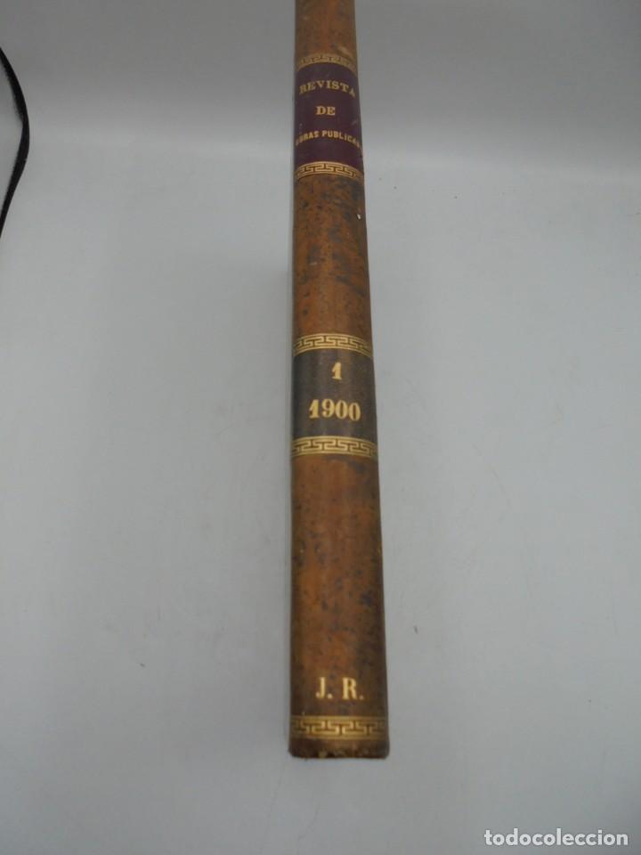 Libros antiguos: REVISTA DE OBRAS PUBLICAS. AÑO XLVII SERIE 7ª. AÑO COMPLETO. 1900. TOMO I Y II. VER FOTOS - Foto 68 - 275222398