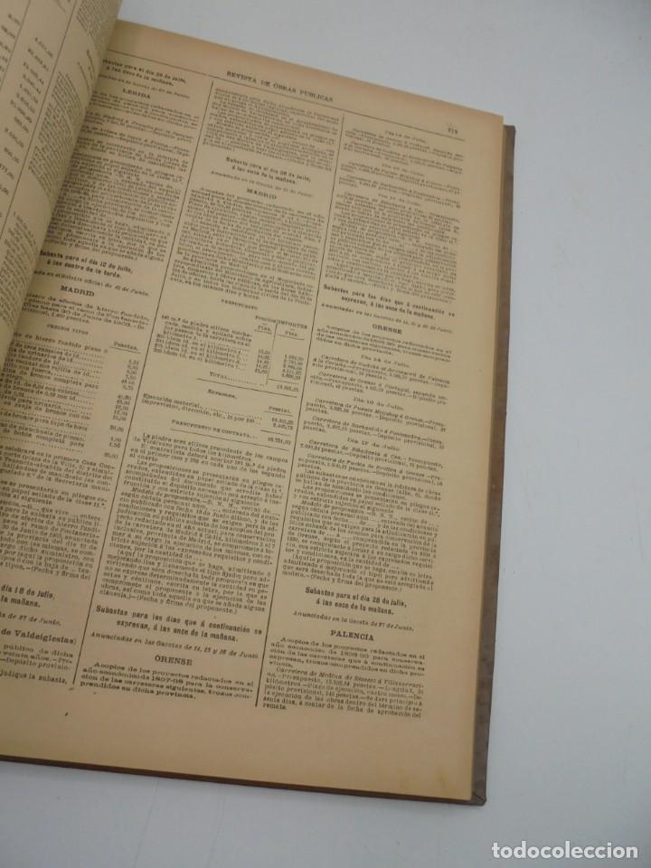 Libros antiguos: REVISTA DE OBRAS PUBLICAS. AÑO XLVII SERIE 7ª. AÑO COMPLETO. 1900. TOMO I Y II. VER FOTOS - Foto 74 - 275222398