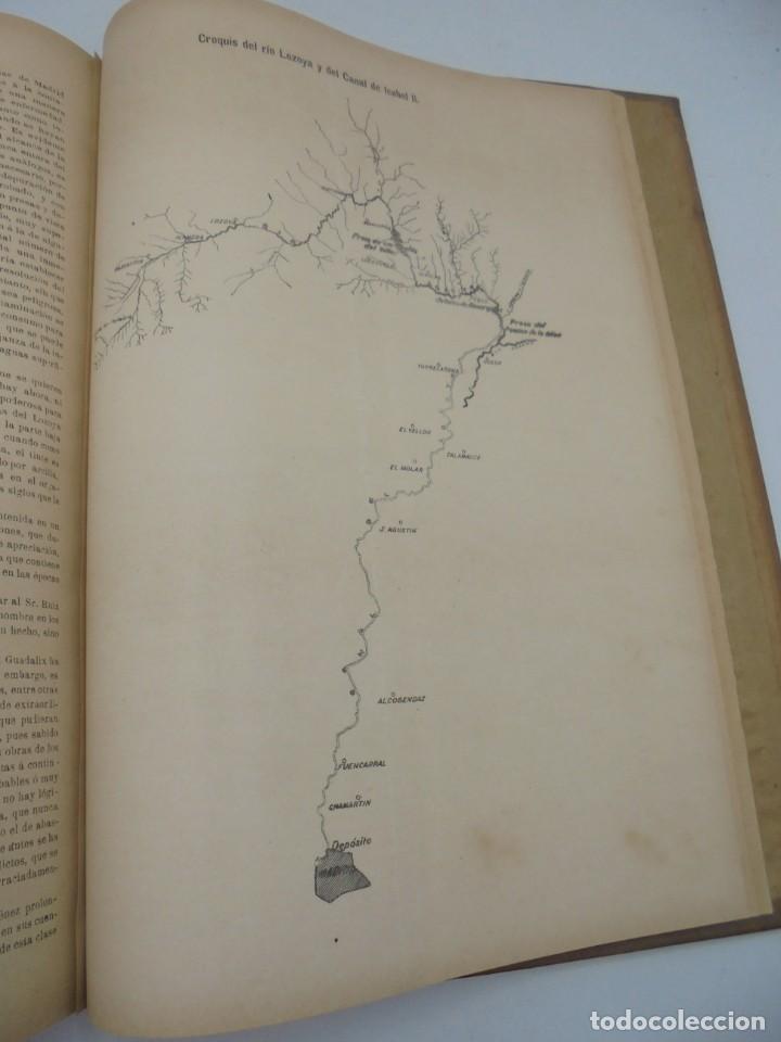 Libros antiguos: REVISTA DE OBRAS PUBLICAS. AÑO XLVI SERIE 7ª. AÑO COMPLETO. 1899. TOMO I Y II. VER FOTOS - Foto 65 - 275226183