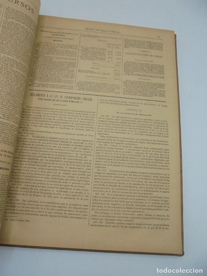 Libros antiguos: REVISTA DE OBRAS PUBLICAS. AÑO XLVI SERIE 7ª. AÑO COMPLETO. 1899. TOMO I Y II. VER FOTOS - Foto 78 - 275226183