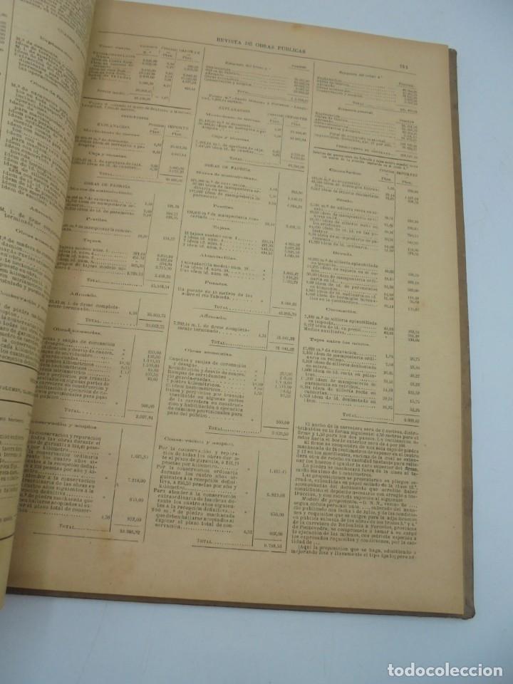 Libros antiguos: REVISTA DE OBRAS PUBLICAS. AÑO XLVI SERIE 7ª. AÑO COMPLETO. 1899. TOMO I Y II. VER FOTOS - Foto 79 - 275226183
