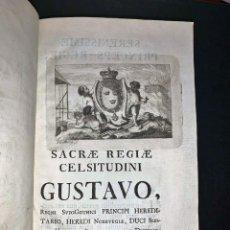 Libros antiguos: AÑO 1768: MUY RARO: LIBRO DE METALURGIA DEL SIGLO XVIII.. Lote 275313483