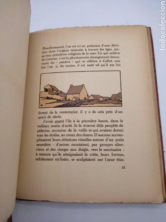 Libros antiguos: Vieilles chapelles bretagne por Albert Morance sólo 100 ejemplares - Foto 5 - 275500058