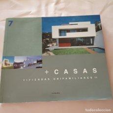 Libros antiguos: LIBRO + CASAS VIVIENDAS UNIFAMILIARES. Lote 276031083