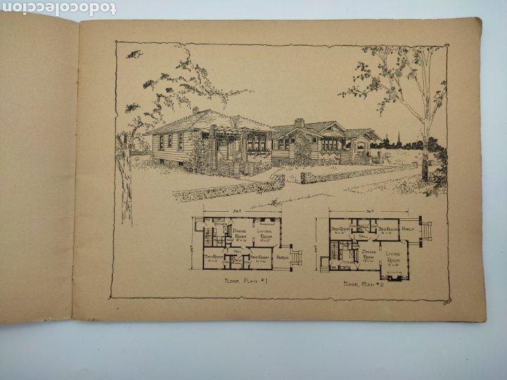 Libros antiguos: Artistic practical homes año 1921 planos de casas - Foto 3 - 276058023