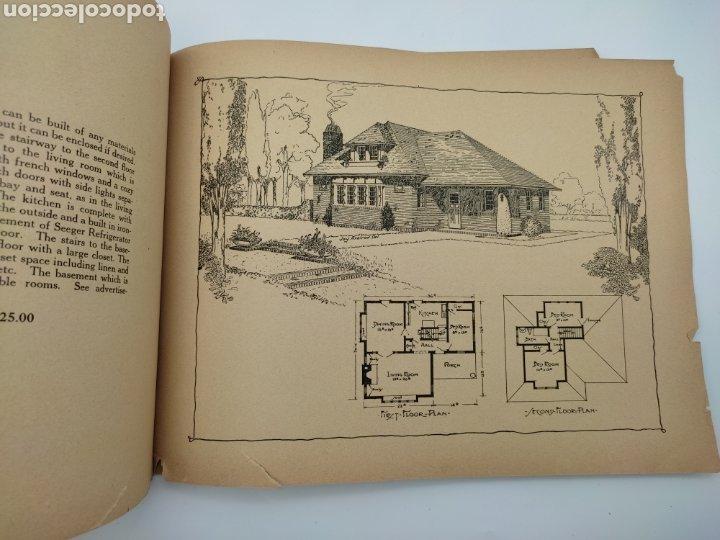Libros antiguos: Artistic practical homes año 1921 planos de casas - Foto 4 - 276058023