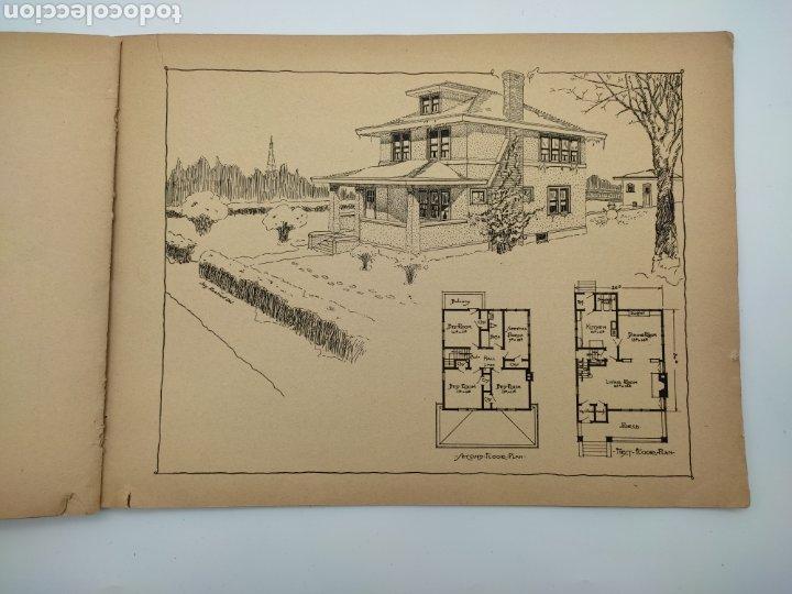 Libros antiguos: Artistic practical homes año 1921 planos de casas - Foto 6 - 276058023