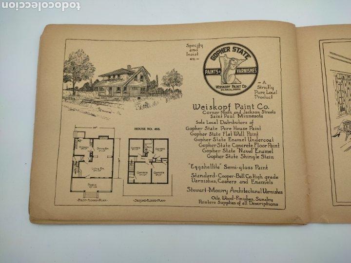 Libros antiguos: Artistic practical homes año 1921 planos de casas - Foto 7 - 276058023