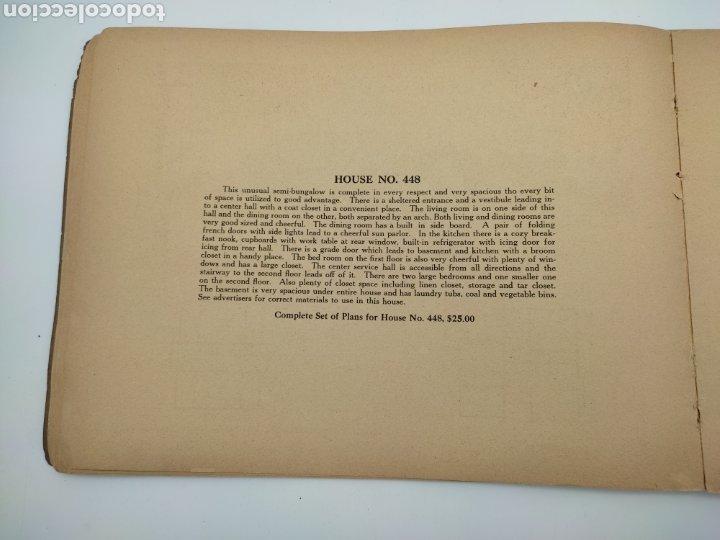 Libros antiguos: Artistic practical homes año 1921 planos de casas - Foto 5 - 276058023