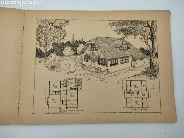 Libros antiguos: Artistic practical homes año 1921 planos de casas - Foto 8 - 276058023