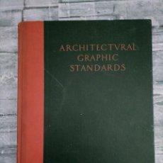 Libros antiguos: ARCHITECTURAL GRAPHIC STANDARDS 1932 1 ED RAMSEY TAPA DURA GRAN TAMAÑO. Lote 276072293