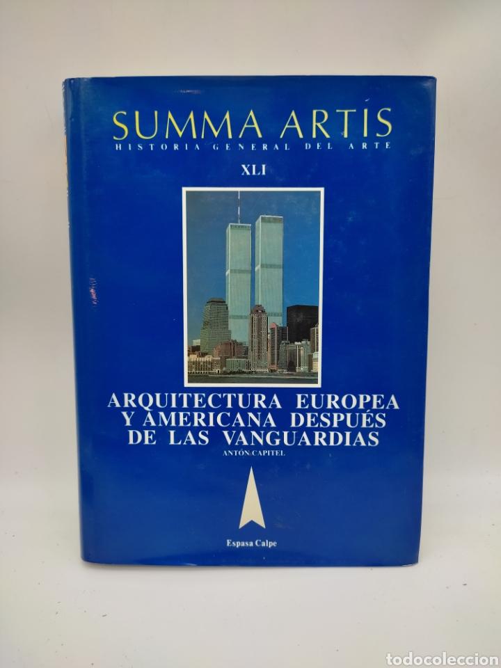 SUMA ARTIS ARQUITECTURA EUROPEA Y AMERICA DESPUÉS DE LAS VANGUARDIAS (Libros Antiguos, Raros y Curiosos - Bellas artes, ocio y coleccion - Arquitectura)