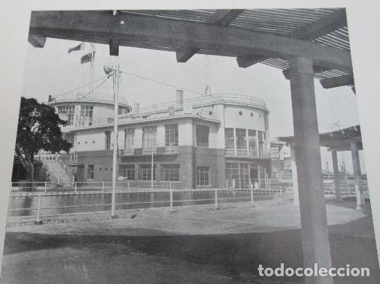 Libros antiguos: ARQUITECTURA CONTEMPORANEA ESPAÑA VALENCIA JAVIER GOERLICH LLÉO, EDARBA, 1934, FRONTON, NAUTICO. - Foto 4 - 276636838