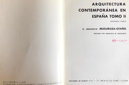 Libros antiguos: Madrid Arquitectura contemporánea España. Muguruza Otaño. Edarba, 1933 - Foto 2 - 276648748