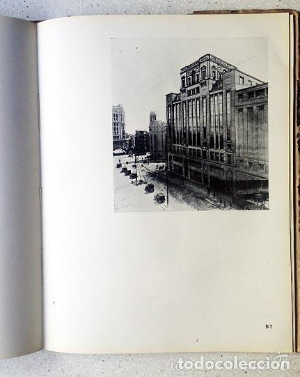 Libros antiguos: Madrid Arquitectura contemporánea España. Muguruza Otaño. Edarba, 1933 - Foto 4 - 276648748