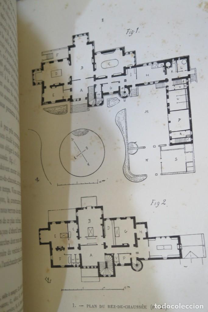 Libros antiguos: HISTOIRE DUNE MAISON. VIOLLET- LE-DUC - Foto 5 - 277082083