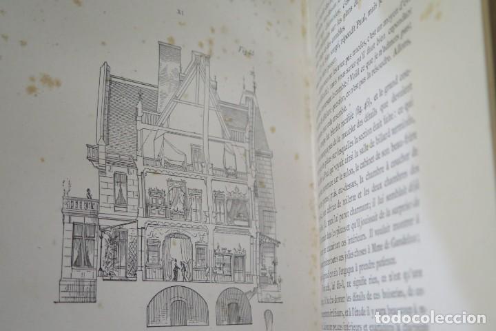 Libros antiguos: HISTOIRE DUNE MAISON. VIOLLET- LE-DUC - Foto 7 - 277082083