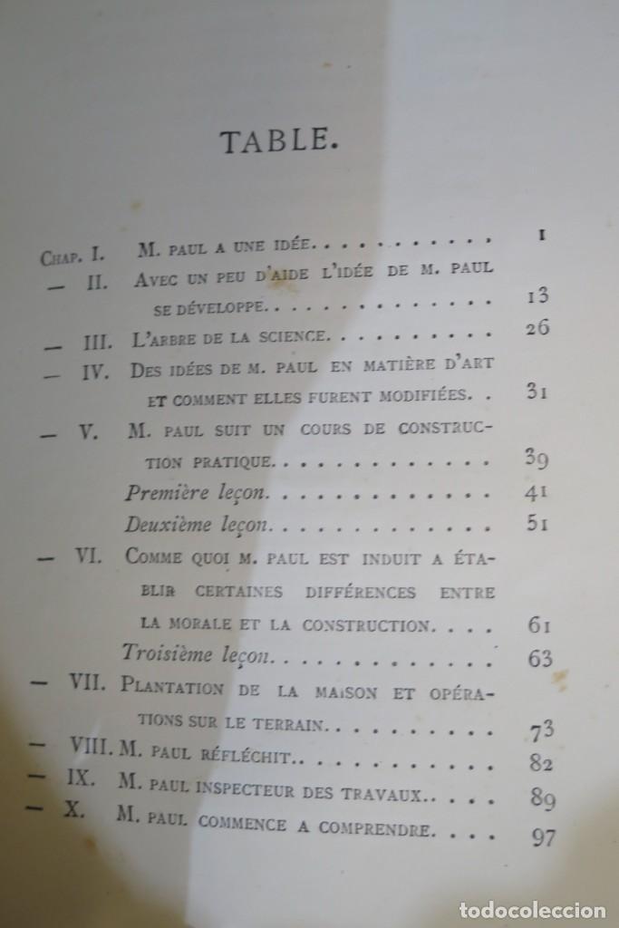 Libros antiguos: HISTOIRE DUNE MAISON. VIOLLET- LE-DUC - Foto 8 - 277082083
