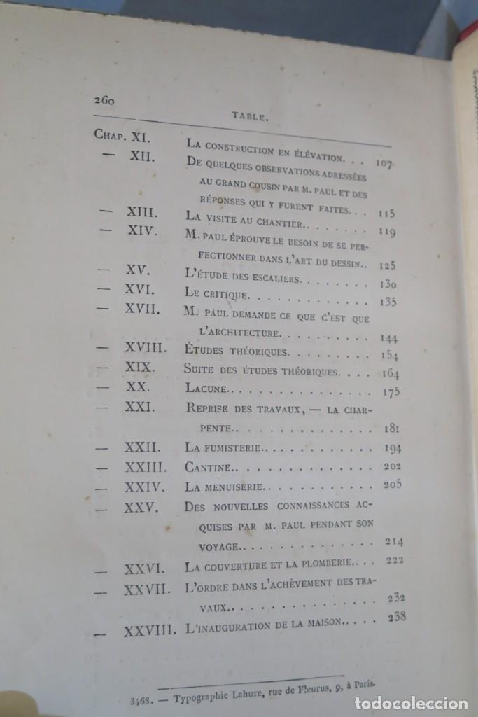 Libros antiguos: HISTOIRE DUNE MAISON. VIOLLET- LE-DUC - Foto 9 - 277082083