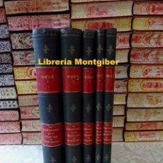 Libros antiguos: DIE KONSTRUKTIONEN UND DIE KUNSTFORMEN DER ARCHITEKTUR . 5 TOMOS . AUTOR : UHDE, CONSTANTIN. Lote 277421093