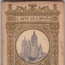 Libros antiguos: EL ARTE EN ESPAÑA: CATEDRAL DE LEÓN. Lote 277686793