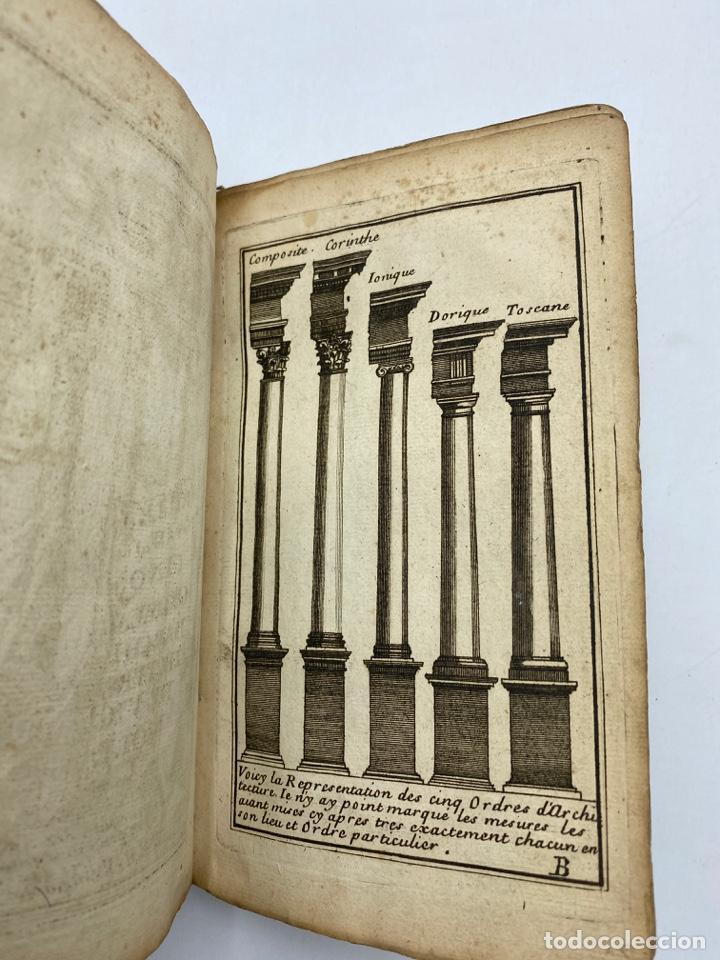 Libros antiguos: REGLE DES CINQ ORDRES DARCHITECTURE DE VIGNOLE. PARIS, 1694. EN FRANCÉS - Foto 4 - 279357743