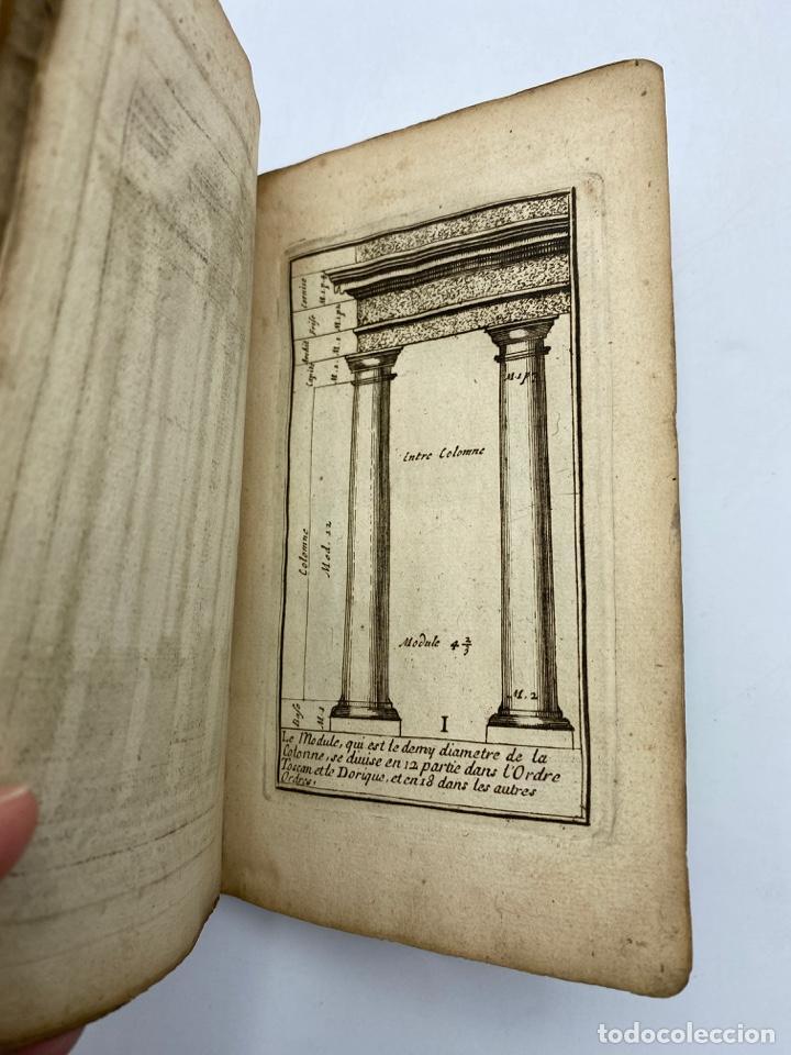Libros antiguos: REGLE DES CINQ ORDRES DARCHITECTURE DE VIGNOLE. PARIS, 1694. EN FRANCÉS - Foto 5 - 279357743