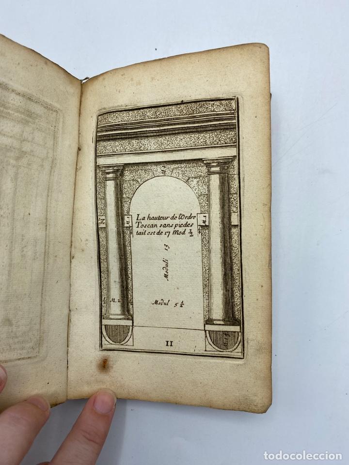 Libros antiguos: REGLE DES CINQ ORDRES DARCHITECTURE DE VIGNOLE. PARIS, 1694. EN FRANCÉS - Foto 6 - 279357743