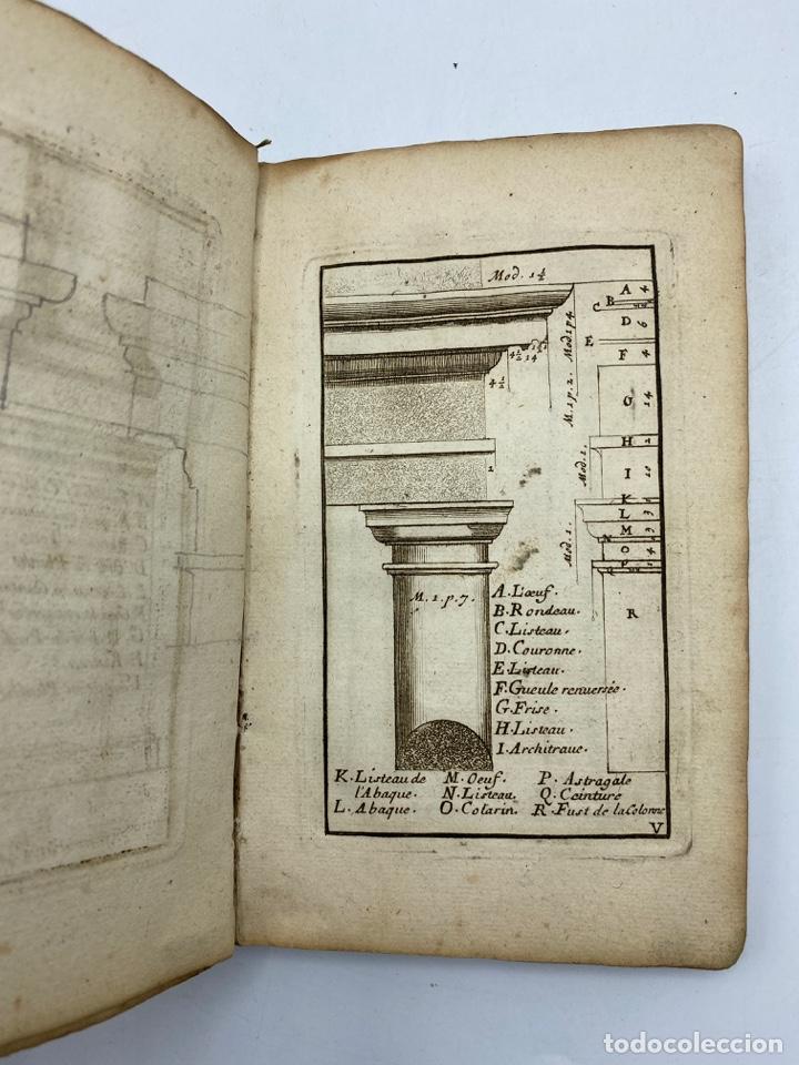 Libros antiguos: REGLE DES CINQ ORDRES DARCHITECTURE DE VIGNOLE. PARIS, 1694. EN FRANCÉS - Foto 9 - 279357743