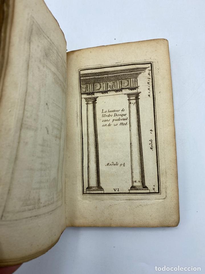 Libros antiguos: REGLE DES CINQ ORDRES DARCHITECTURE DE VIGNOLE. PARIS, 1694. EN FRANCÉS - Foto 10 - 279357743