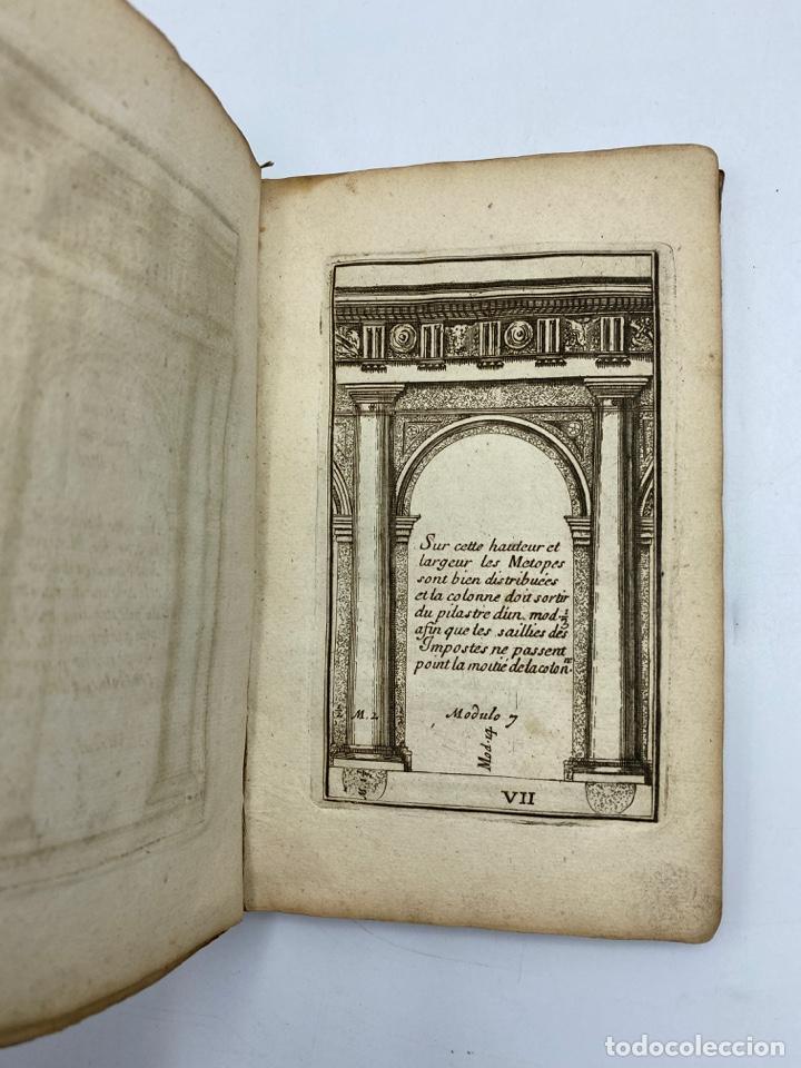 Libros antiguos: REGLE DES CINQ ORDRES DARCHITECTURE DE VIGNOLE. PARIS, 1694. EN FRANCÉS - Foto 11 - 279357743