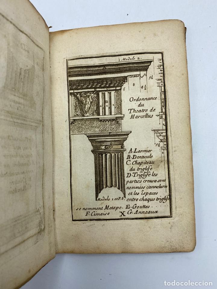 Libros antiguos: REGLE DES CINQ ORDRES DARCHITECTURE DE VIGNOLE. PARIS, 1694. EN FRANCÉS - Foto 14 - 279357743