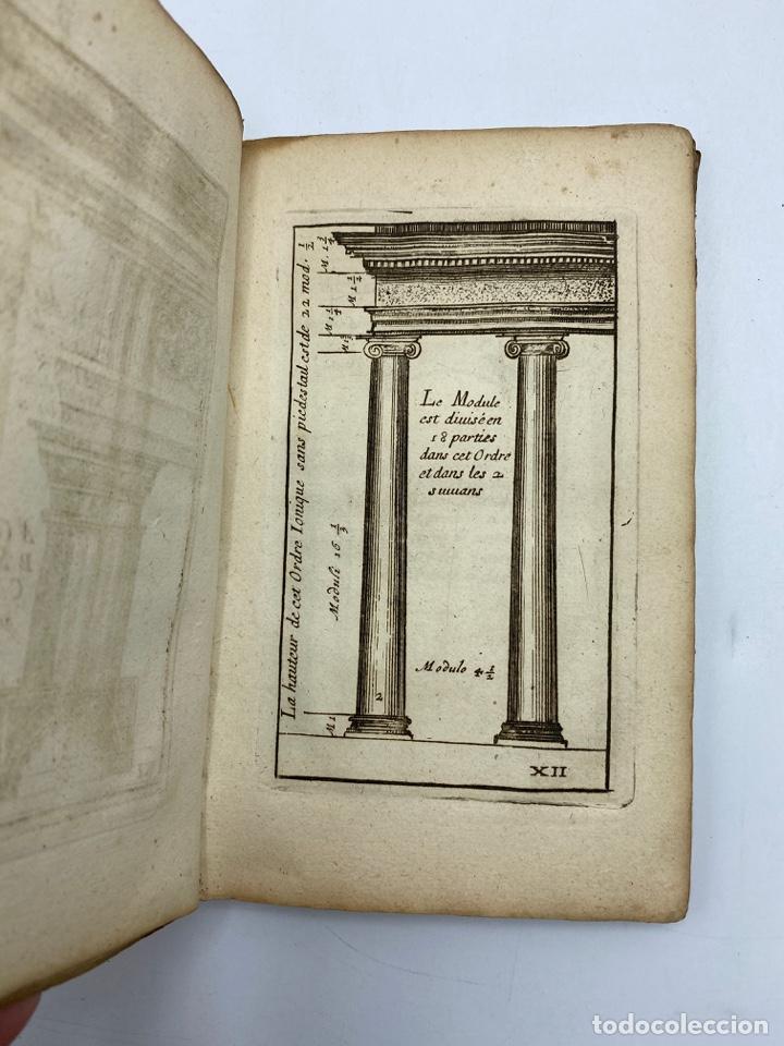 Libros antiguos: REGLE DES CINQ ORDRES DARCHITECTURE DE VIGNOLE. PARIS, 1694. EN FRANCÉS - Foto 16 - 279357743