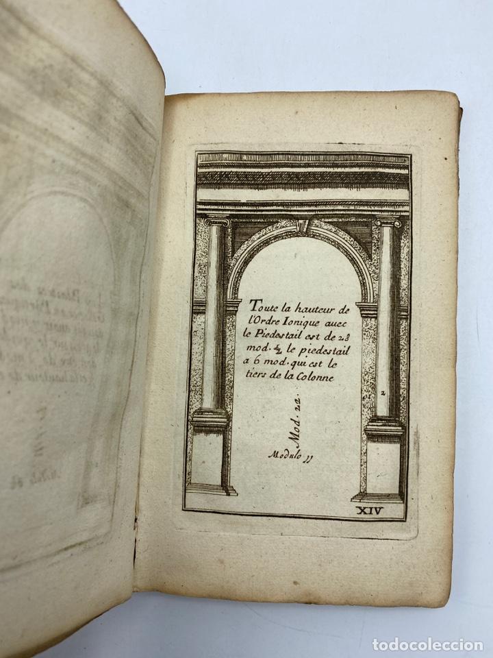 Libros antiguos: REGLE DES CINQ ORDRES DARCHITECTURE DE VIGNOLE. PARIS, 1694. EN FRANCÉS - Foto 17 - 279357743