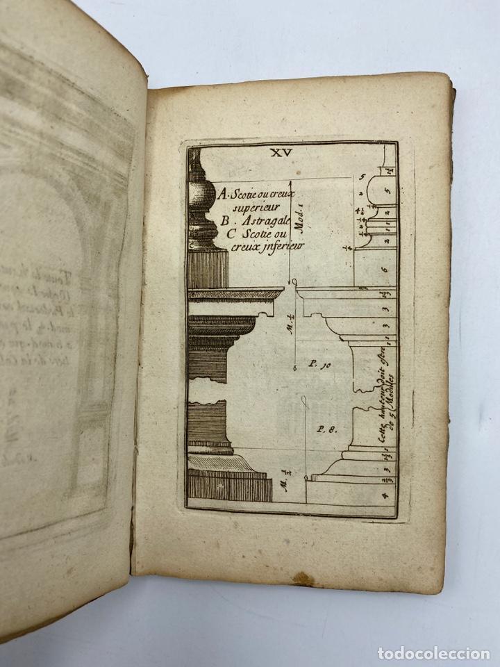 Libros antiguos: REGLE DES CINQ ORDRES DARCHITECTURE DE VIGNOLE. PARIS, 1694. EN FRANCÉS - Foto 18 - 279357743