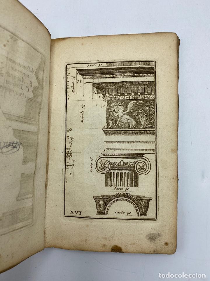Libros antiguos: REGLE DES CINQ ORDRES DARCHITECTURE DE VIGNOLE. PARIS, 1694. EN FRANCÉS - Foto 19 - 279357743