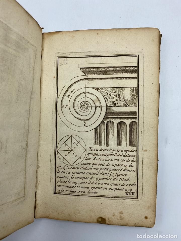 Libros antiguos: REGLE DES CINQ ORDRES DARCHITECTURE DE VIGNOLE. PARIS, 1694. EN FRANCÉS - Foto 20 - 279357743