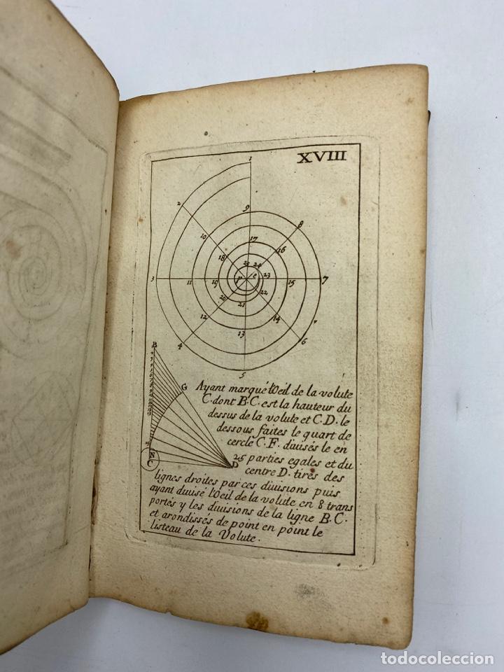 Libros antiguos: REGLE DES CINQ ORDRES DARCHITECTURE DE VIGNOLE. PARIS, 1694. EN FRANCÉS - Foto 21 - 279357743