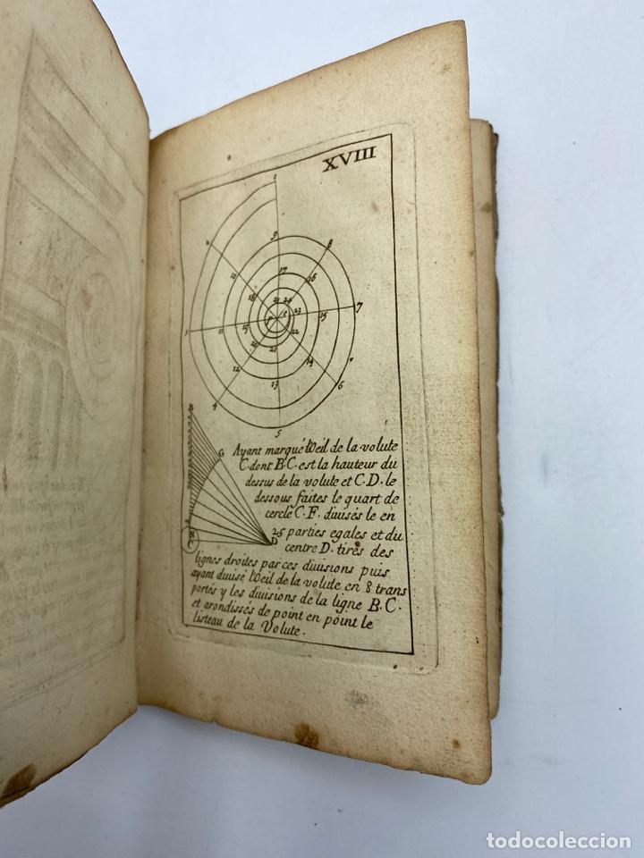 Libros antiguos: REGLE DES CINQ ORDRES DARCHITECTURE DE VIGNOLE. PARIS, 1694. EN FRANCÉS - Foto 22 - 279357743