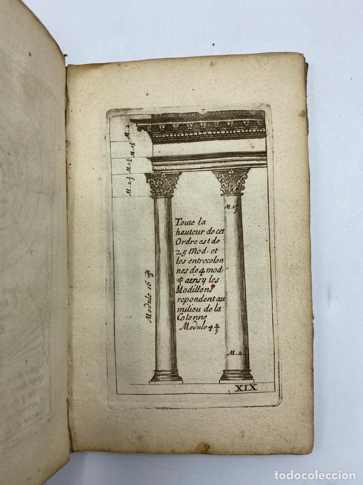 Libros antiguos: REGLE DES CINQ ORDRES DARCHITECTURE DE VIGNOLE. PARIS, 1694. EN FRANCÉS - Foto 23 - 279357743