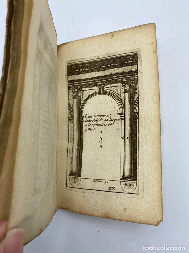 Libros antiguos: REGLE DES CINQ ORDRES DARCHITECTURE DE VIGNOLE. PARIS, 1694. EN FRANCÉS - Foto 24 - 279357743