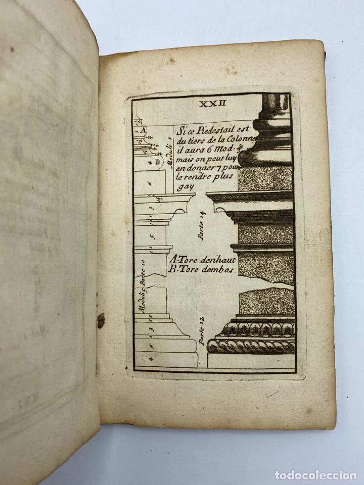 Libros antiguos: REGLE DES CINQ ORDRES DARCHITECTURE DE VIGNOLE. PARIS, 1694. EN FRANCÉS - Foto 26 - 279357743