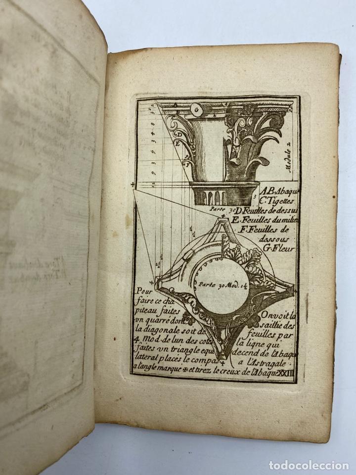 Libros antiguos: REGLE DES CINQ ORDRES DARCHITECTURE DE VIGNOLE. PARIS, 1694. EN FRANCÉS - Foto 27 - 279357743
