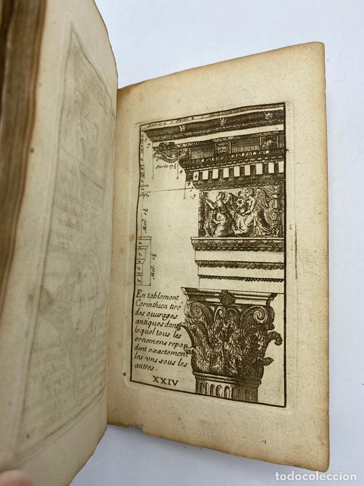 Libros antiguos: REGLE DES CINQ ORDRES DARCHITECTURE DE VIGNOLE. PARIS, 1694. EN FRANCÉS - Foto 28 - 279357743