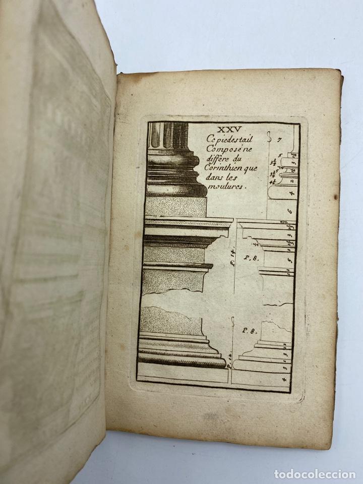Libros antiguos: REGLE DES CINQ ORDRES DARCHITECTURE DE VIGNOLE. PARIS, 1694. EN FRANCÉS - Foto 29 - 279357743