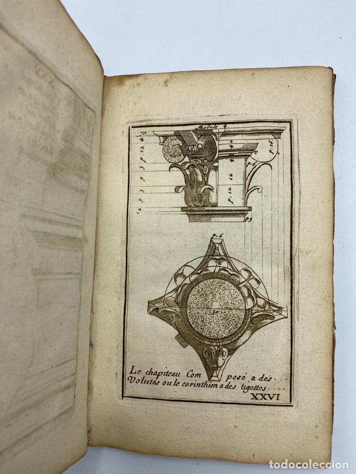 Libros antiguos: REGLE DES CINQ ORDRES DARCHITECTURE DE VIGNOLE. PARIS, 1694. EN FRANCÉS - Foto 30 - 279357743