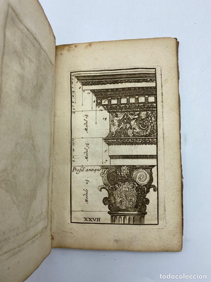 Libros antiguos: REGLE DES CINQ ORDRES DARCHITECTURE DE VIGNOLE. PARIS, 1694. EN FRANCÉS - Foto 31 - 279357743