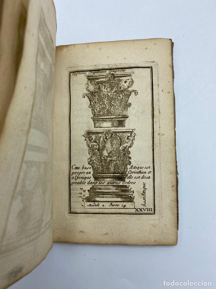 Libros antiguos: REGLE DES CINQ ORDRES DARCHITECTURE DE VIGNOLE. PARIS, 1694. EN FRANCÉS - Foto 32 - 279357743
